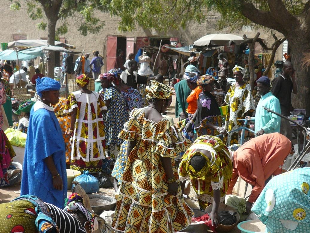 Mercado en Djenné