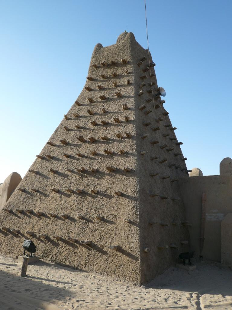 Mezquita típica de estilo sudanés