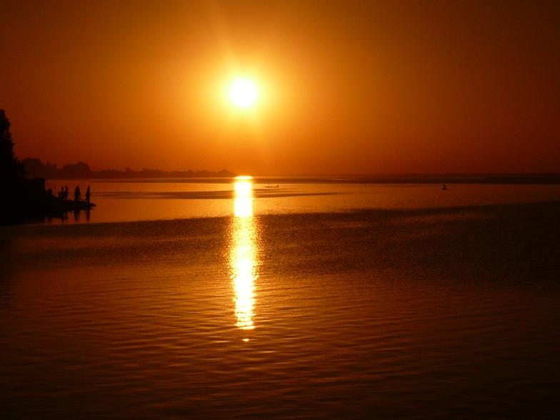 Puesta de Sol en Ségou