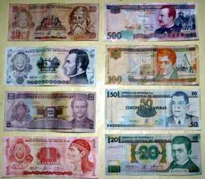 billetes honduras
