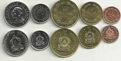 monedas honduras